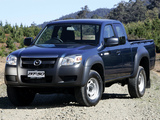 Images of Mazda BT-50 Freestyle Cab AU-spec (J97M) 2006–08