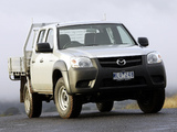Images of Mazda BT-50 Utility DX Double Cab AU-spec (J97M) 2008–11