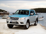 Images of Mazda BT-50 Double Cab (J97M) 2008–11