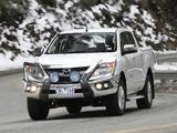 Images of Mazda BT-50 Double Cab AU-spec 2011