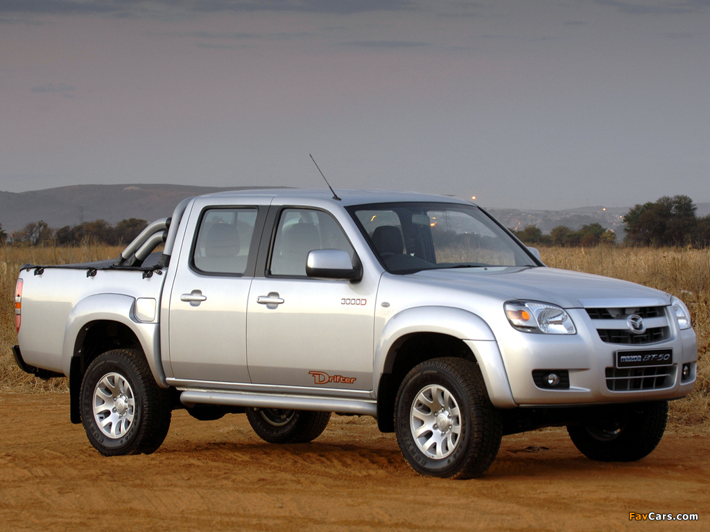 Mazda BT-50 Drifter 3000D Double Cab 2006–08 pictures (1024 x 768)