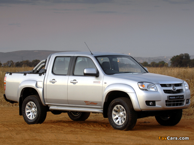 Mazda BT-50 Drifter 3000D Double Cab 2006–08 pictures (640 x 480)