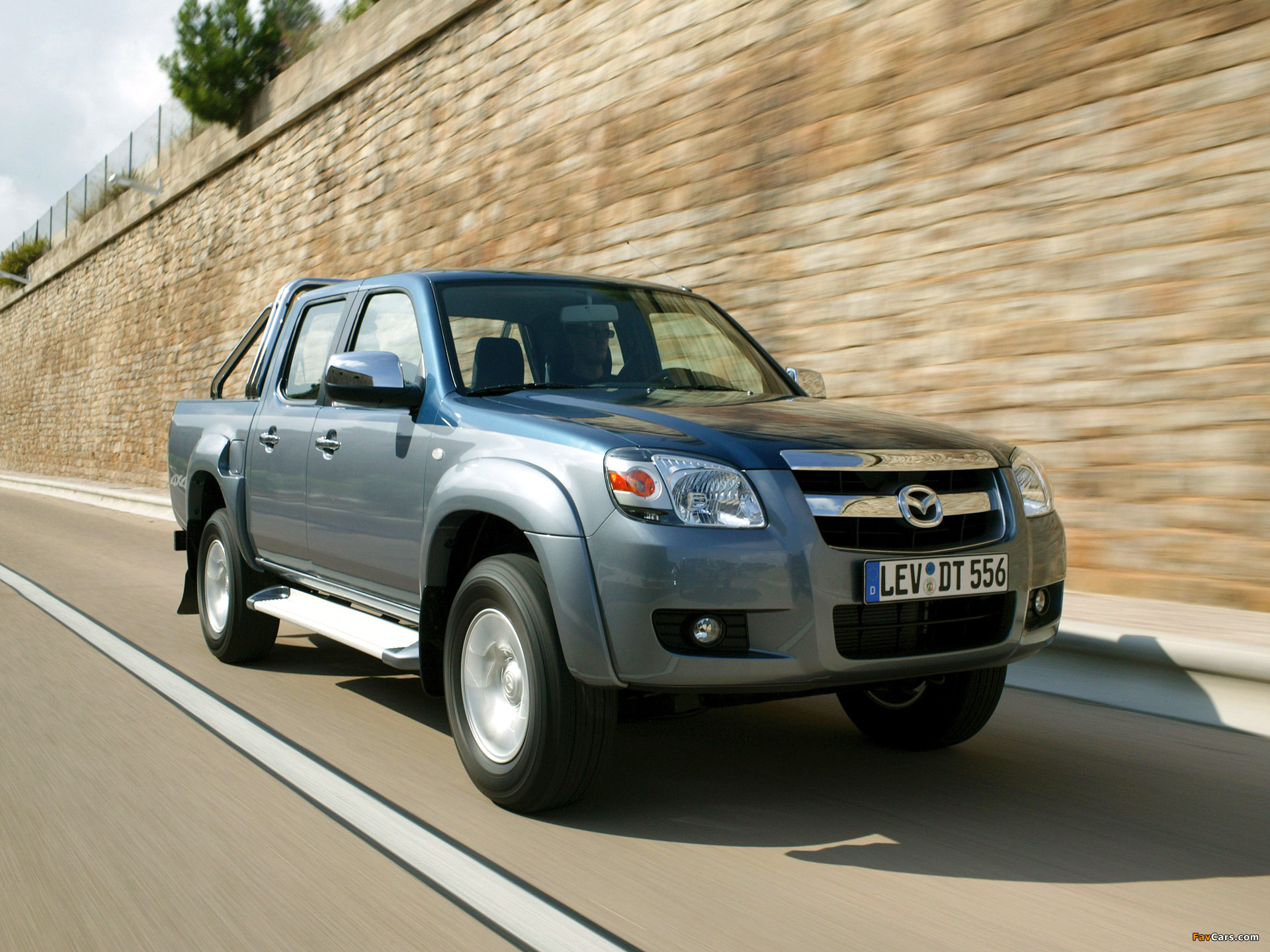 Mazda BT-50 Double Cab 2006-08 wallpapers (1920x1440)