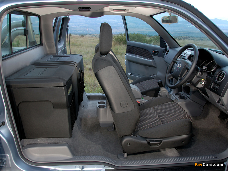 Mazda BT-50 Freestyle Cab ZA-spec (J97M) 2006–08 wallpapers (800 x 600)