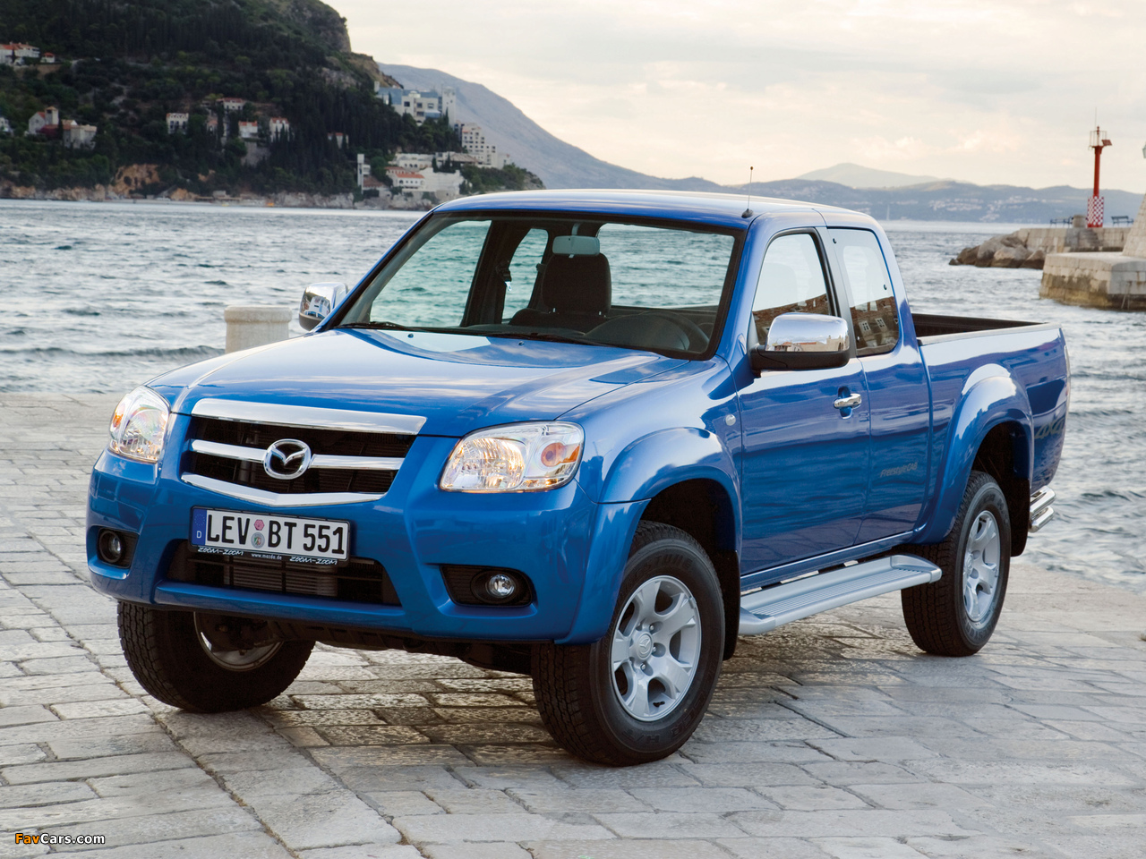 Mazda BT-50 Freestyle Cab (J97M) 2008–11 photos (1280 x 960)