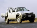 Mazda BT-50 Utility DX Double Cab AU-spec (J97M) 2008–11 pictures