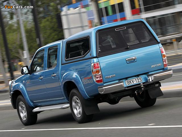 Mazda BT-50 Boss Double Cab AU-spec (J97M) 2008–11 pictures (640 x 480)