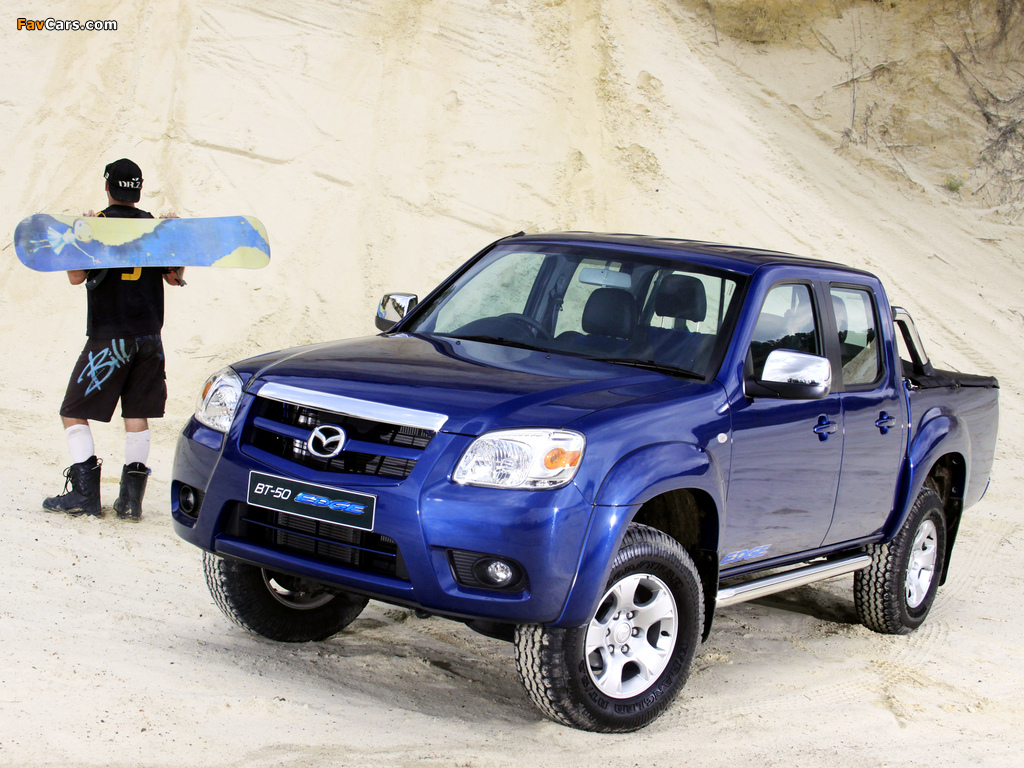 Mazda BT-50 Edge Double Cab (J97M) 2010 wallpapers (1024 x 768)