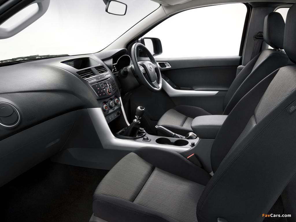 Mazda BT-50 Freestyle Cab AU-spec 2011 images (1024 x 768)