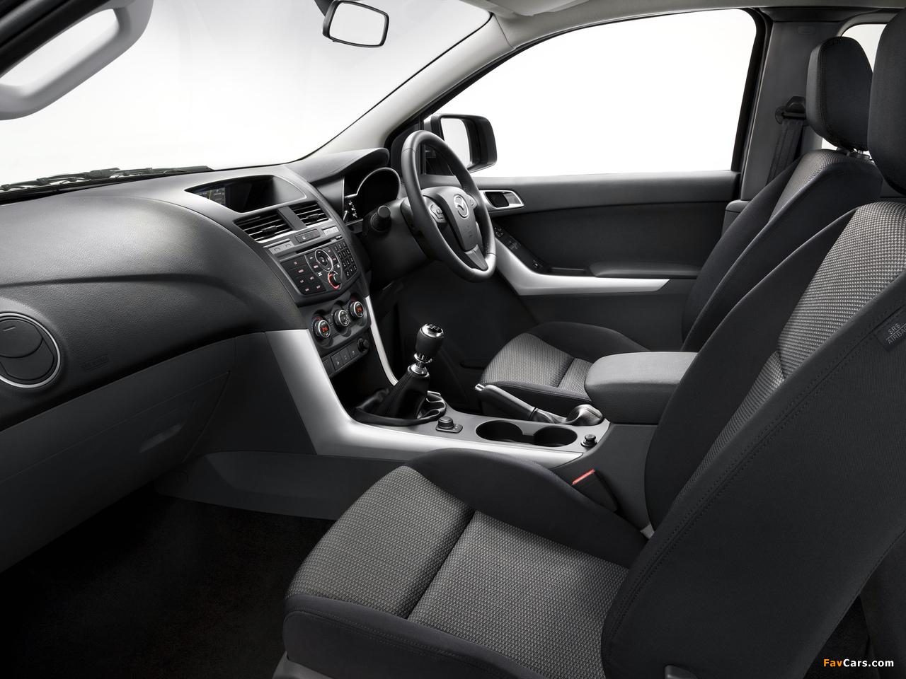 Mazda BT-50 Freestyle Cab AU-spec 2011 images (1280 x 960)