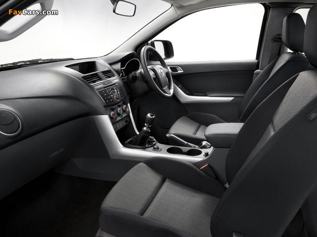 Mazda BT-50 Freestyle Cab AU-spec 2011 images (640 x 480)