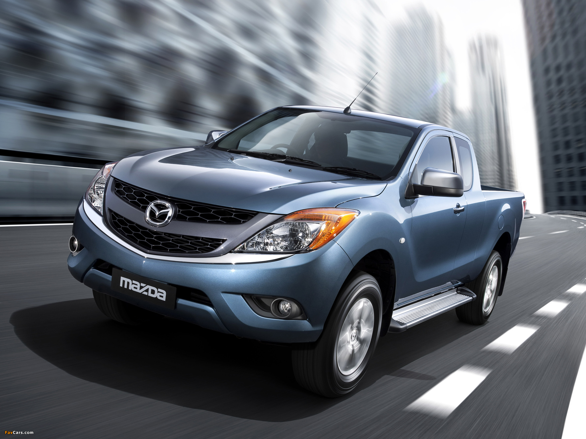 Mazda BT-50 Freestyle Cab AU-spec 2011 photos (2048 x 1536)