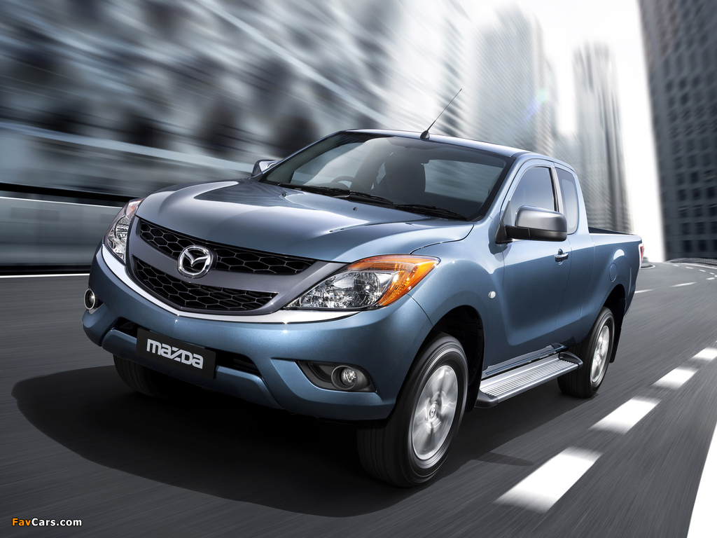 Mazda BT-50 Freestyle Cab AU-spec 2011 photos (1024 x 768)