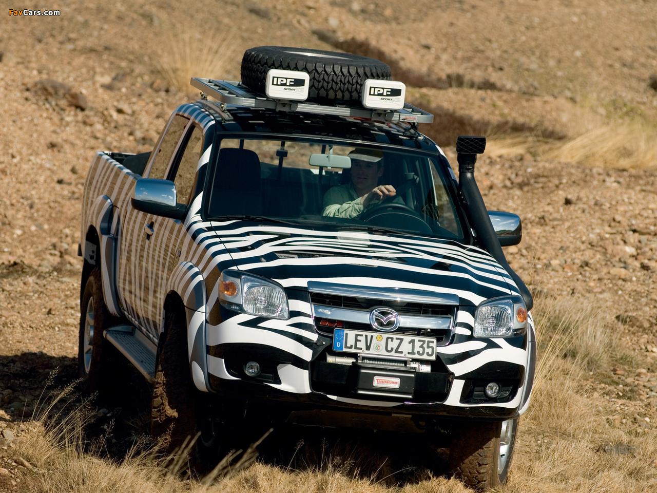 Photos of Mazda BT-50 Freestyle Cab (J97M) 2006-08 (1280x960)