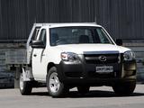 Photos of Mazda BT-50 Chassis Single Cab AU-spec (J97M) 2006–08
