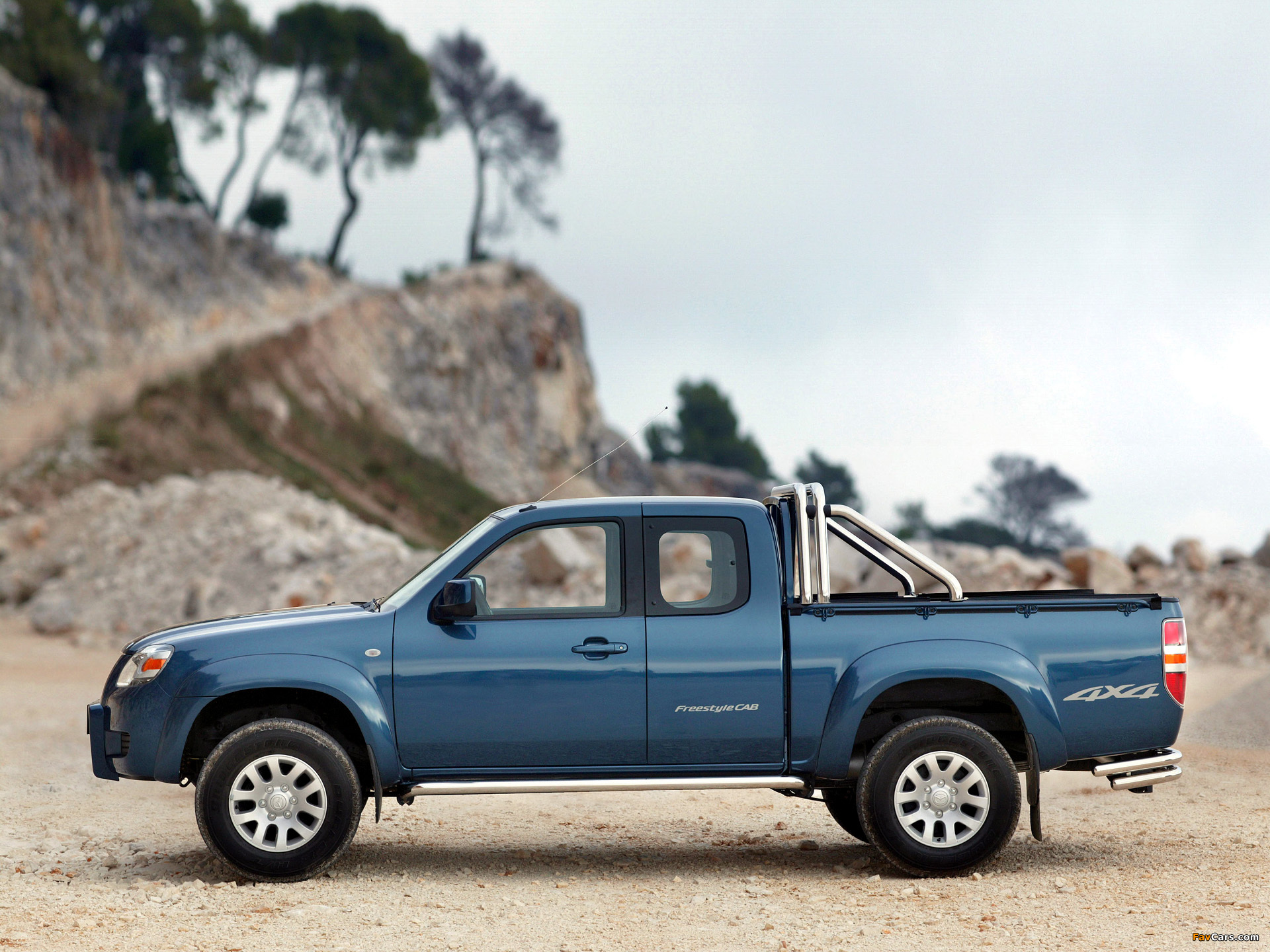 Pictures of Mazda BT-50 Extended Cab (J97M) 2006–08 (1920 x 1440)