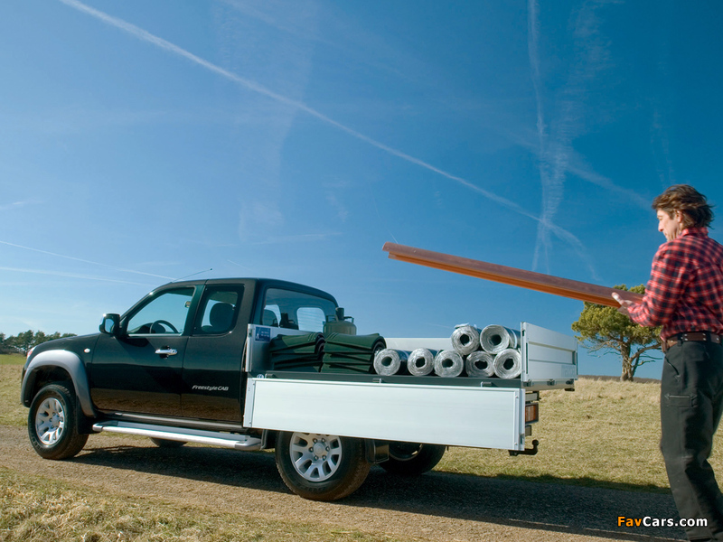 Pictures of Mazda BT-50 Freestyle Cab Tipper (J97M) 2006–08 (800 x 600)