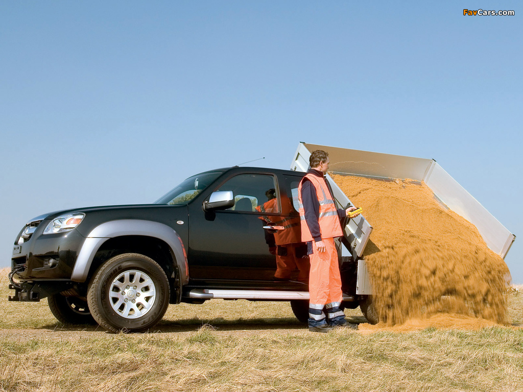 Pictures of Mazda BT-50 Freestyle Cab Tipper (J97M) 2006–08 (1024 x 768)