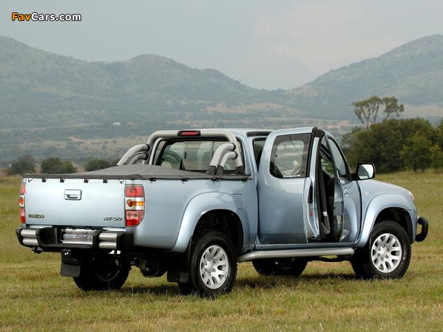 Pictures of Mazda BT-50 Freestyle Cab ZA-spec (J97M) 2006–08 (640 x 480)