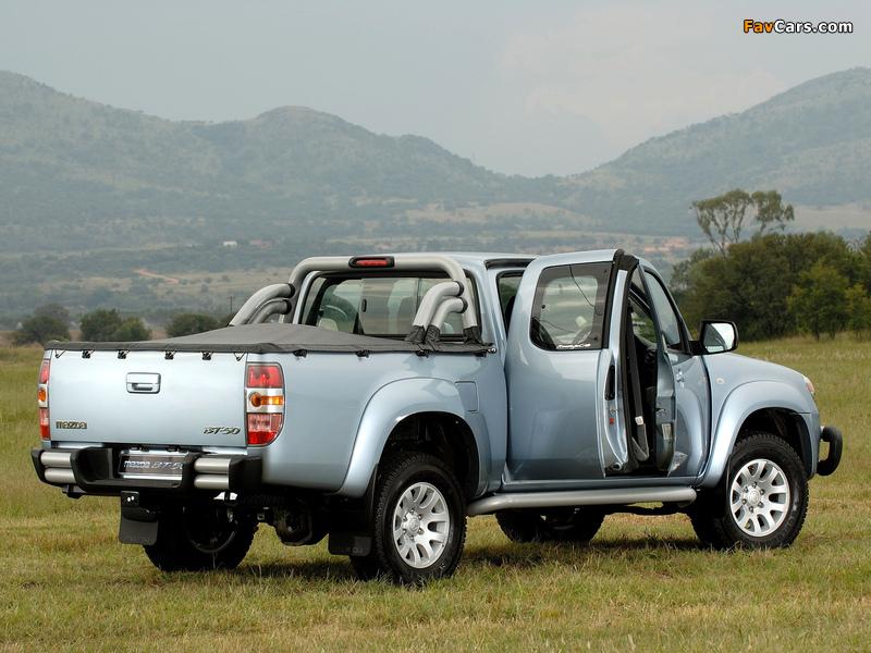 Pictures of Mazda BT-50 Freestyle Cab ZA-spec (J97M) 2006–08 (800 x 600)