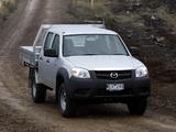 Pictures of Mazda BT-50 Utility DX Double Cab AU-spec (J97M) 2008–11
