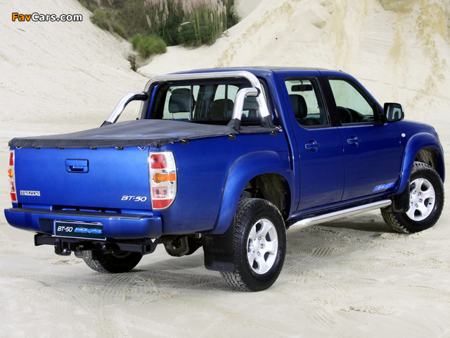 Mazda BT-50 Edge Double Cab (J97M) 2010 wallpapers (640 x 480)