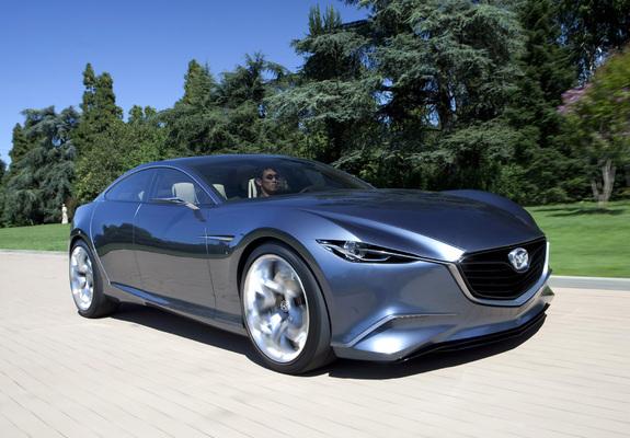 Pictures of Mazda Shinari Concept 2010