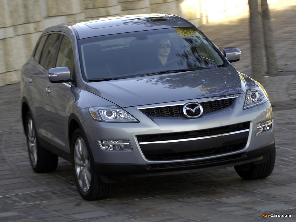 Mazda CX-9 US-spec 2007–09 photos (1024 x 768)