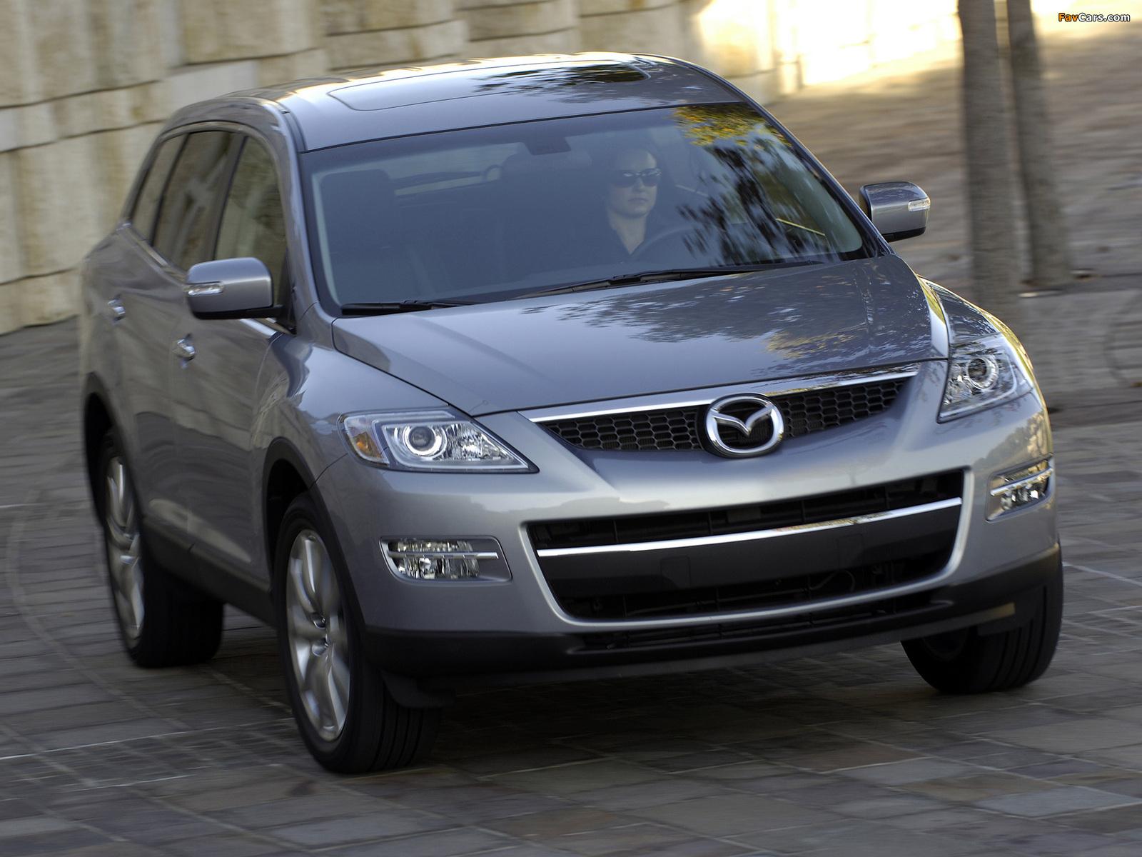 Mazda CX-9 US-spec 2007–09 photos (1600 x 1200)