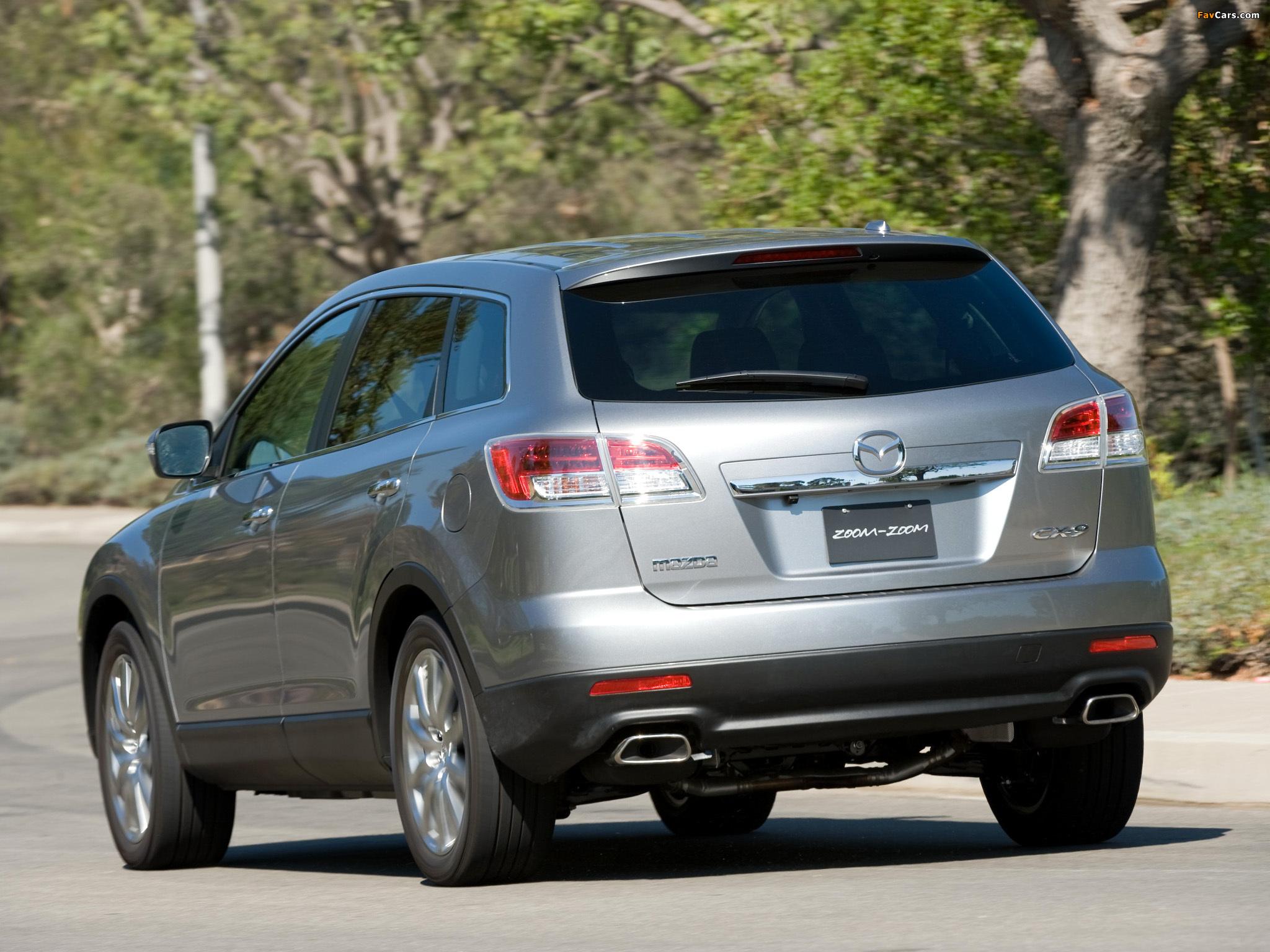 Mazda CX-9 US-spec 2007–09 pictures (2048 x 1536)