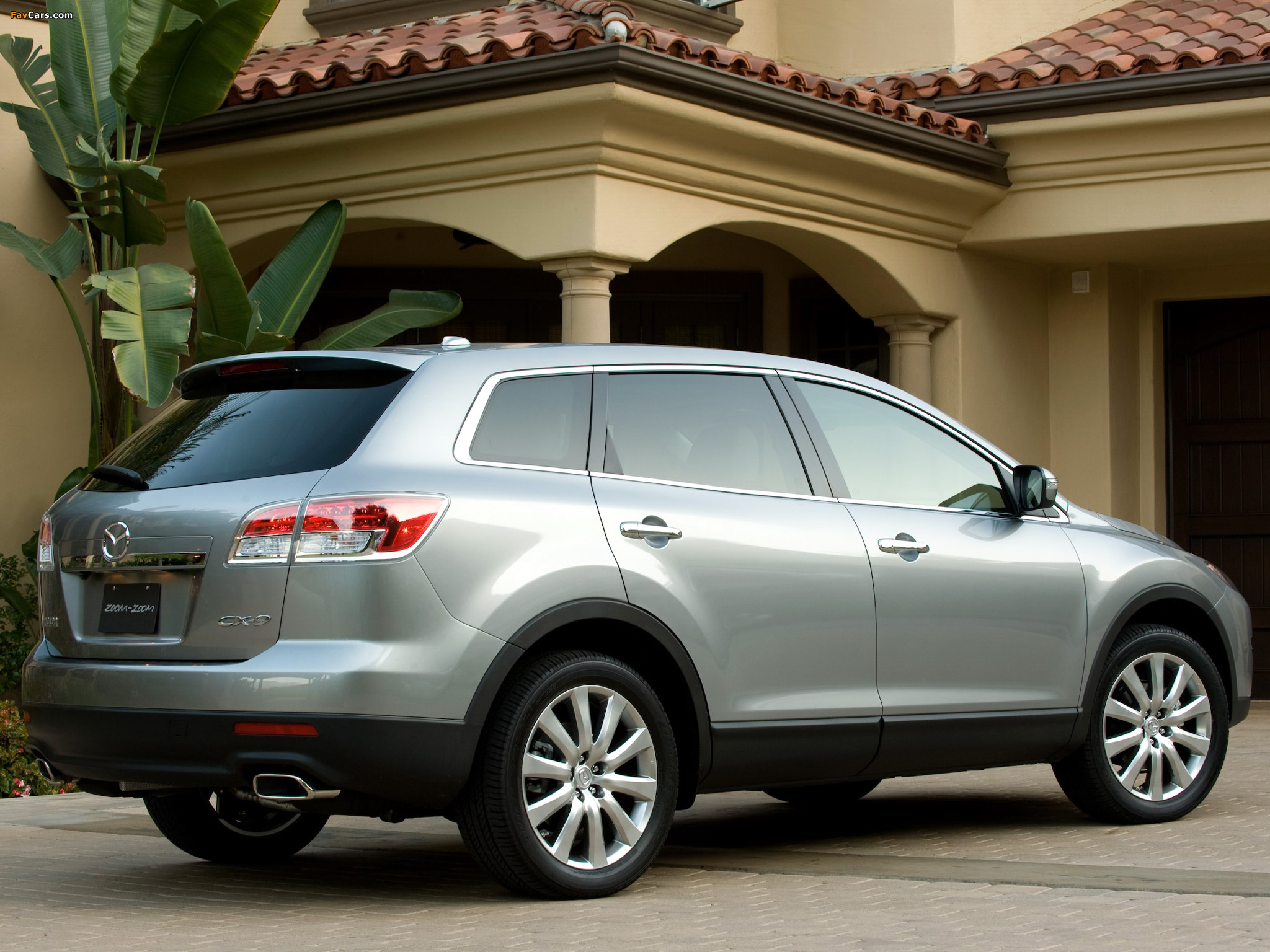 Mazda CX-9 US-spec 2007–09 wallpapers (2048 x 1536)