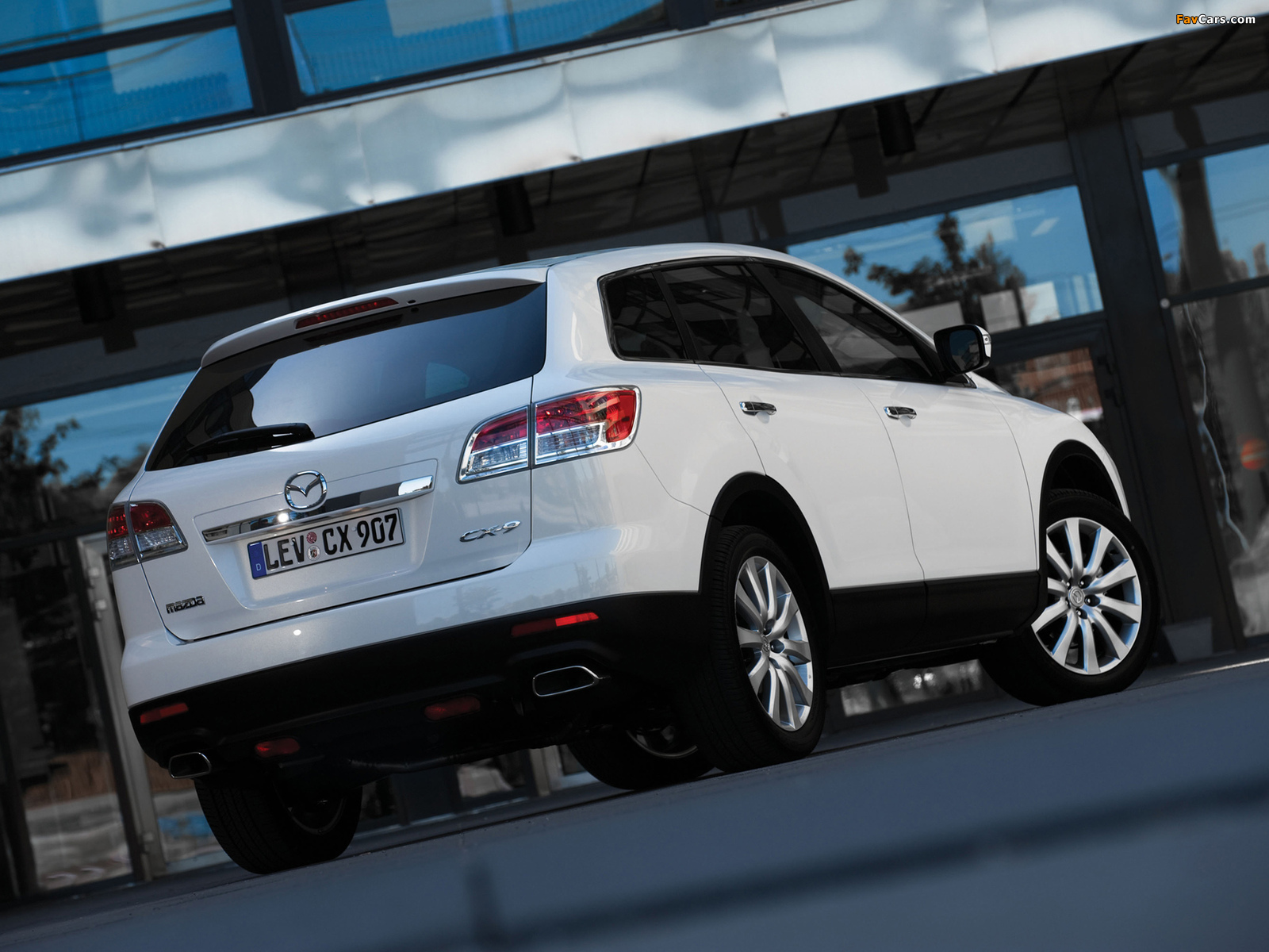Mazda CX-9 2008–09 wallpapers (1600 x 1200)