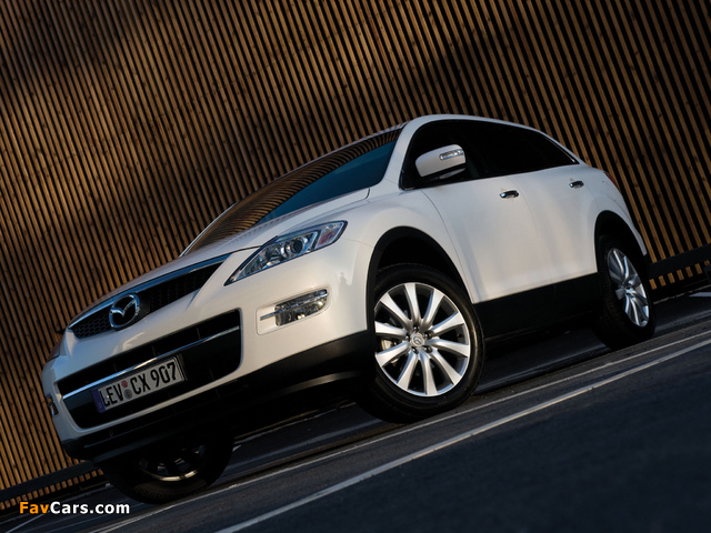 Mazda CX-9 2008–09 wallpapers (640 x 480)
