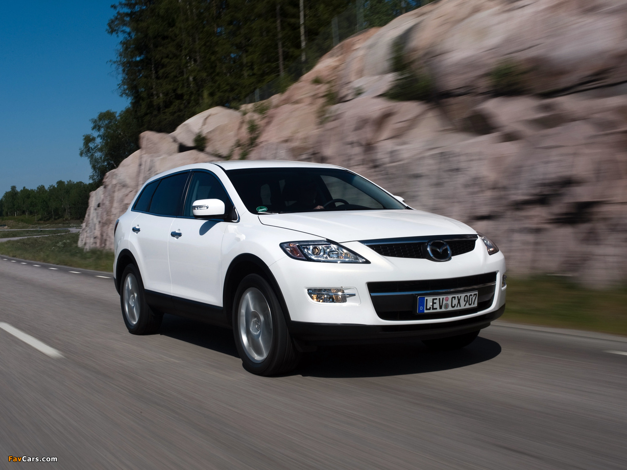 Mazda CX-9 2008–09 wallpapers (1280 x 960)