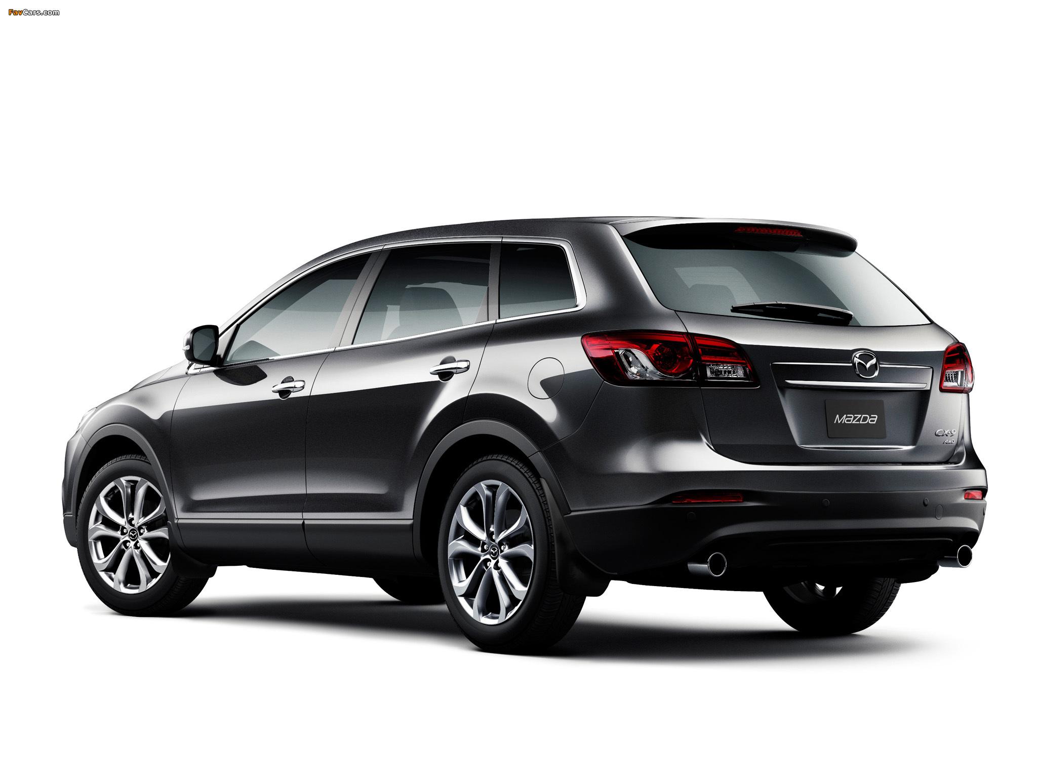 Mazda CX-9 AU-spec 2013 pictures (2048 x 1536)