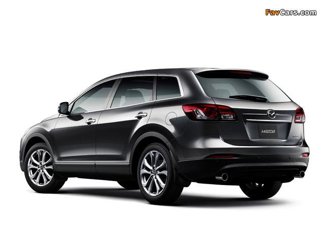 Mazda CX-9 AU-spec 2013 pictures (640 x 480)