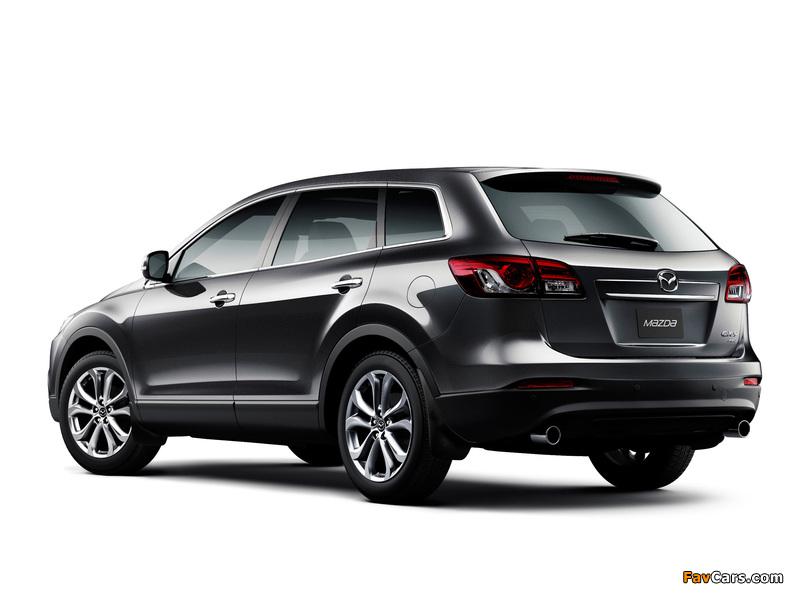 Mazda CX-9 AU-spec 2013 pictures (800 x 600)