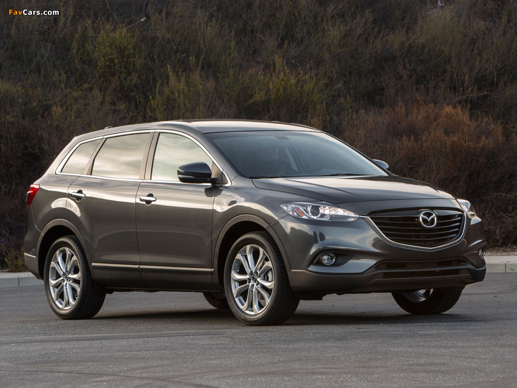 Mazda CX-9 US-spec 2013 wallpapers (1024 x 768)