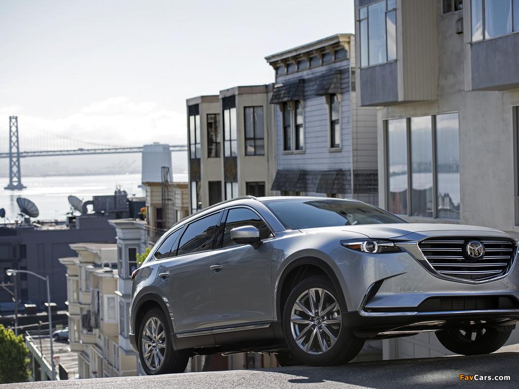 Mazda CX-9 US-spec 2016 pictures (1024 x 768)