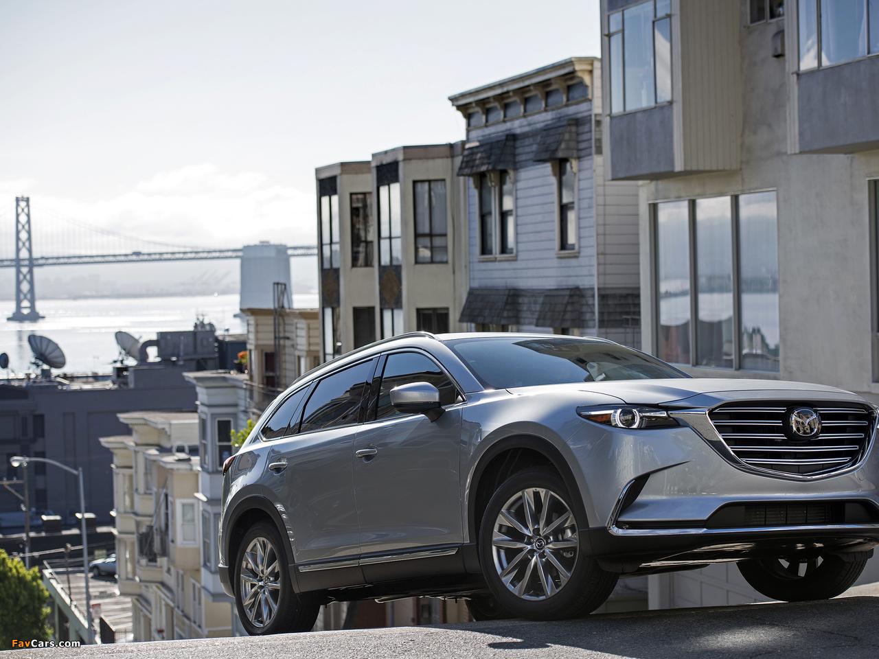 Mazda CX-9 US-spec 2016 pictures (1280 x 960)