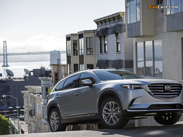 Mazda CX-9 US-spec 2016 pictures (640 x 480)