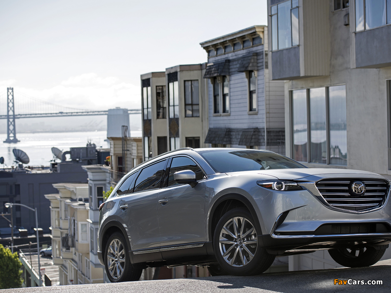 Mazda CX-9 US-spec 2016 pictures (800 x 600)