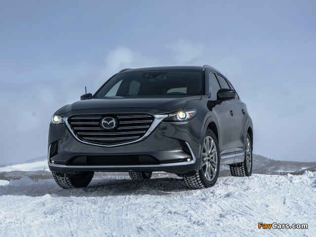 Mazda CX-9 US-spec 2016 wallpapers (640 x 480)