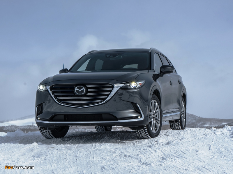 Mazda CX-9 US-spec 2016 wallpapers (800 x 600)
