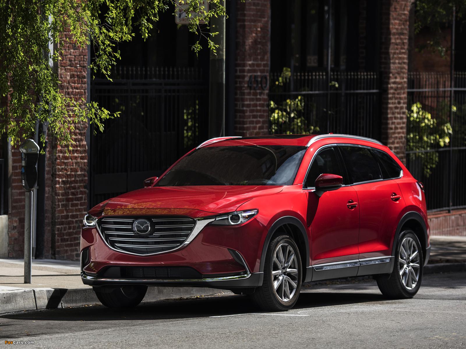 Photos of Mazda CX-9 US-spec 2016 (1600 x 1200)