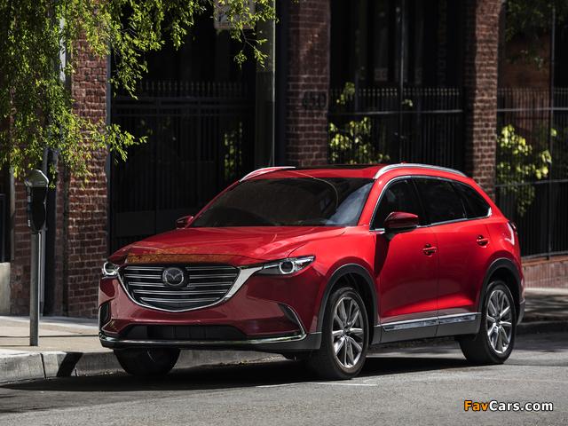 Photos of Mazda CX-9 US-spec 2016 (640 x 480)