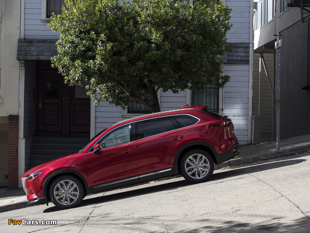 Photos of Mazda CX-9 US-spec 2016 (640 x 480)