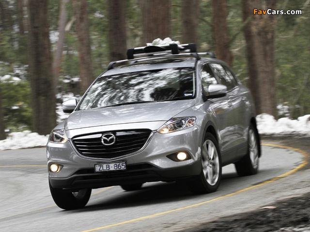 Pictures of Mazda CX-9 AU-spec 2013 (640 x 480)