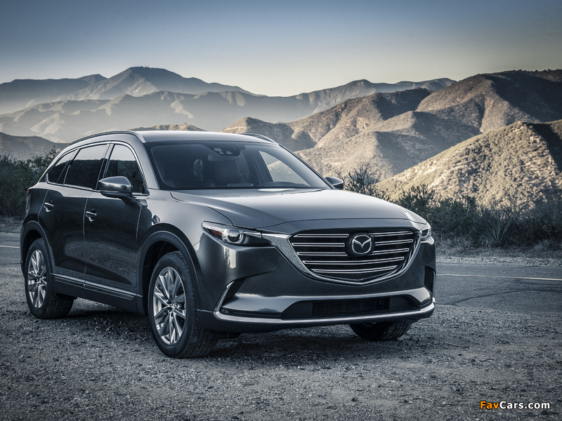 Pictures of Mazda CX-9 US-spec 2016 (800 x 600)
