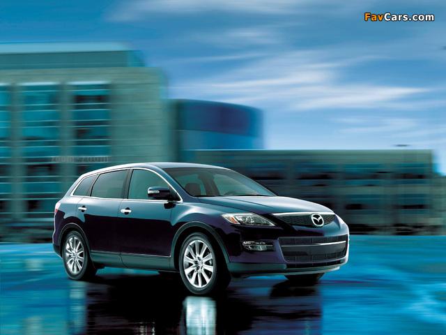 Mazda CX-9 US-spec 2007–09 wallpapers (640 x 480)